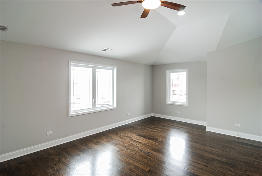 Real Estate Photography - 3512 East Ave, Berwyn, IL, 60402 - 2nd Bedroom
