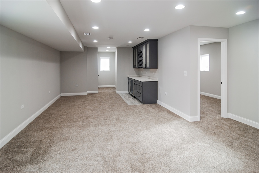 Real Estate Photography - 3512 East Ave, Berwyn, IL, 60402 - Family Room