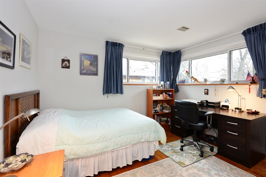 Real Estate Photography - 3534 Forest Ave, Wilmette, IL, 60091 - 3rd Bedroom