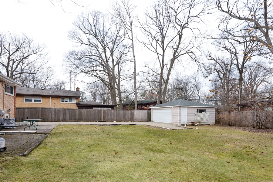 Real Estate Photography - 3534 Forest Ave, Wilmette, IL, 60091 - Back Yard