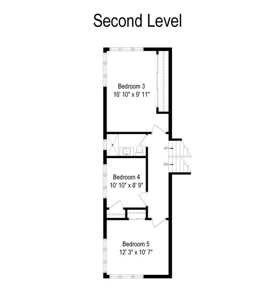 Real Estate Photography - 3534 Forest Ave, Wilmette, IL, 60091 - Floor Plan