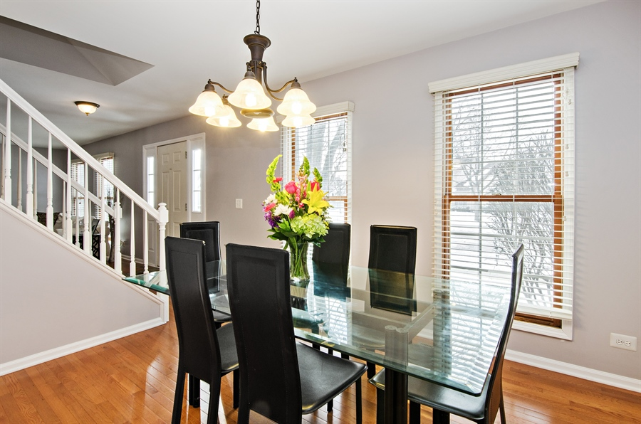 Real Estate Photography - 1044 Hobble Bush Lane, Elgin, IL, 60120 - Dining Room