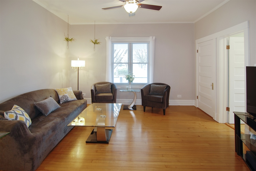 Real Estate Photography - 200 Lathrop Ave, Forest Park, IL, 60130 - Living Room