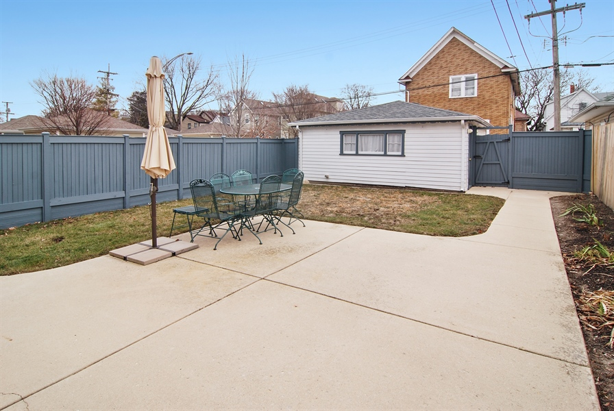 Real Estate Photography - 200 Lathrop Ave, Forest Park, IL, 60130 - Back Yard
