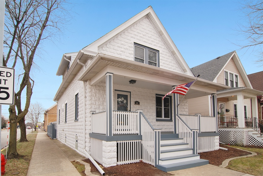 Real Estate Photography - 200 Lathrop Ave, Forest Park, IL, 60130 - Front View