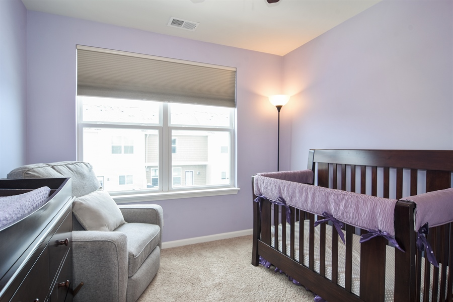 Real Estate Photography - 3197 Coral Lane, Glenview, IL, 60026 - 3rd Bedroom