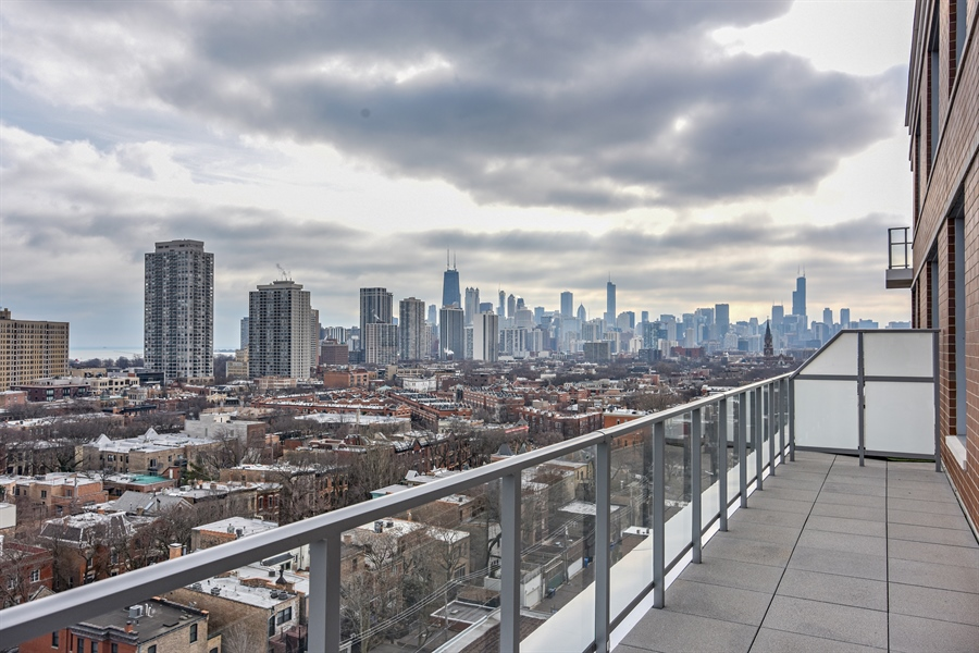 Real Estate Photography - 540 w webster, 313, chicago, IL, 60614 - Balcony