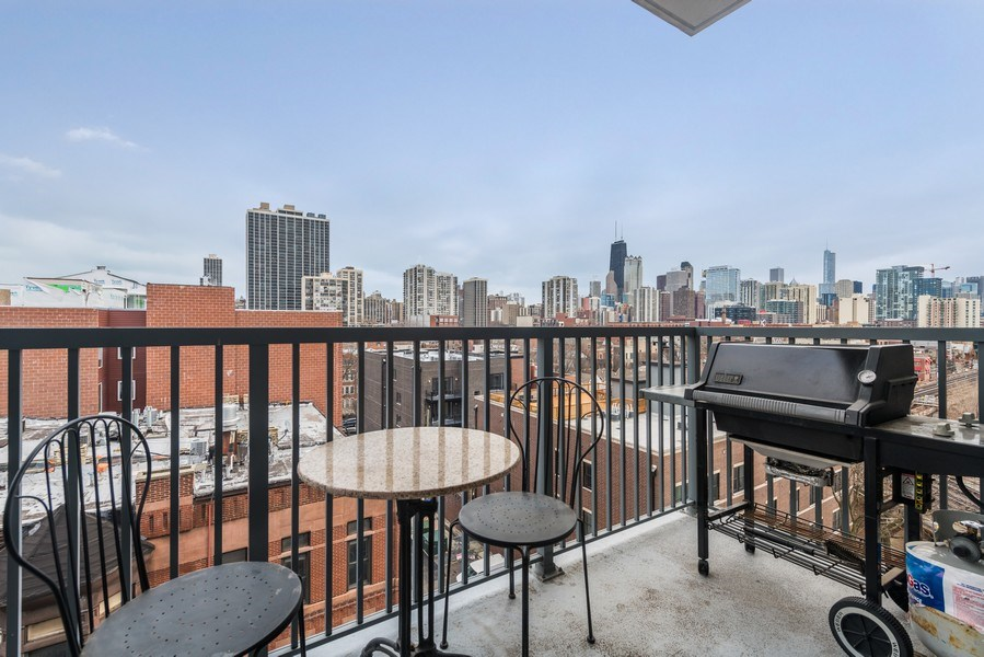 Real Estate Photography - 1546 N Orleans St, Chicago, IL, 60610 - Balcony