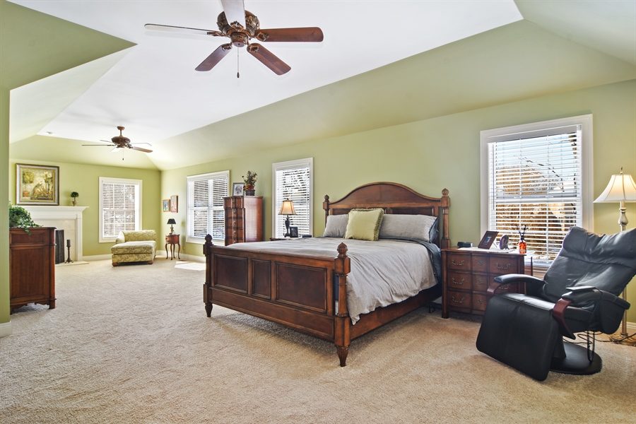 Real Estate Photography - 580 W Ruhl, Palatine, IL, 60074 - Master Bedroom