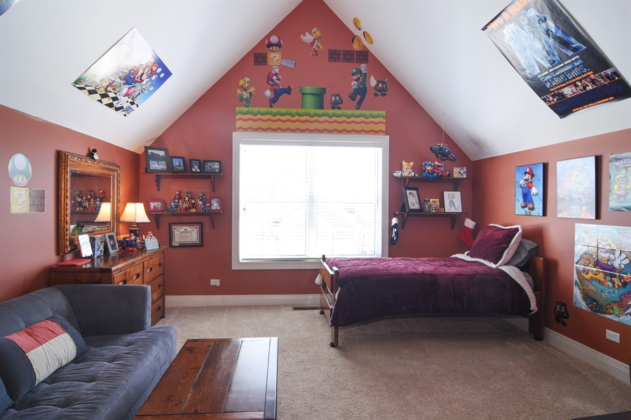 Real Estate Photography - 580 W Ruhl, Palatine, IL, 60074 - 3rd Bedroom