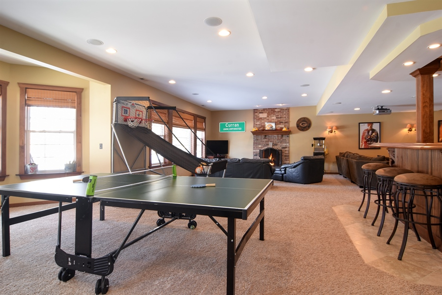 Real Estate Photography - 580 W Ruhl, Palatine, IL, 60074 - Game Room