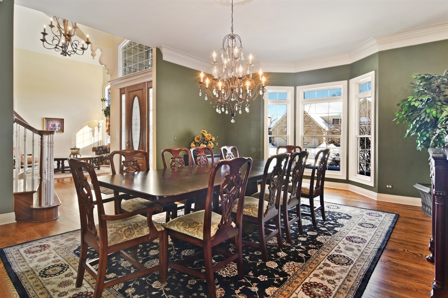 Real Estate Photography - 580 W Ruhl, Palatine, IL, 60074 - Dining Room