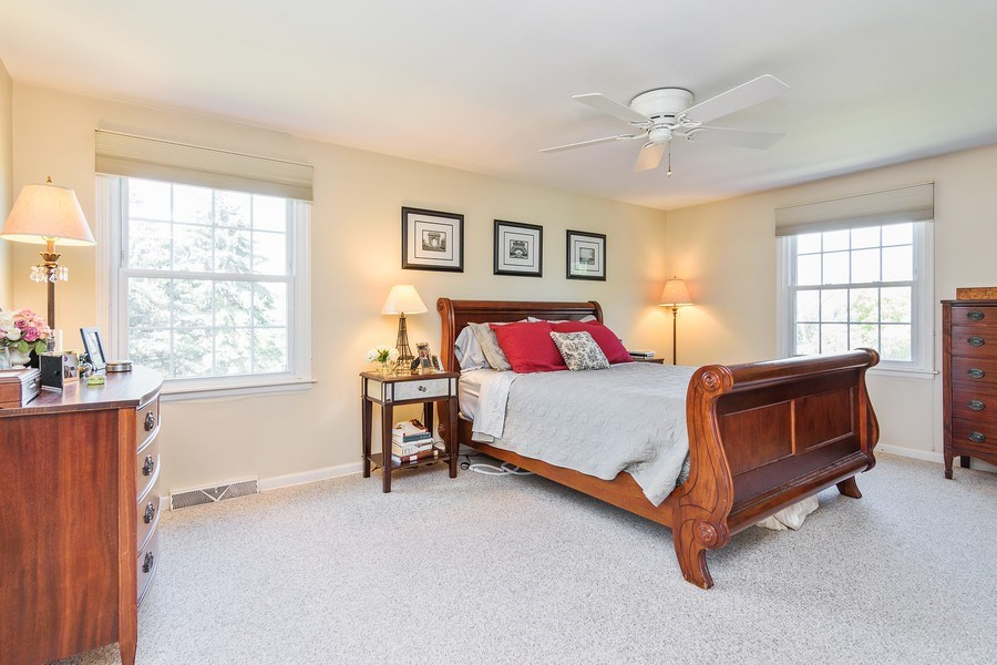Real Estate Photography - 25877 Apache, Lake Barrington, IL, 60010 - Master Bedroom