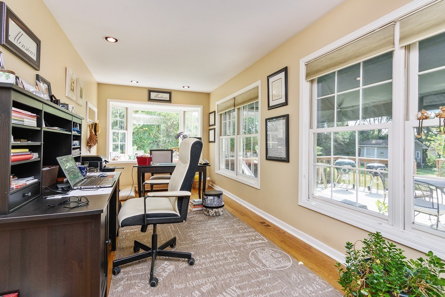 Real Estate Photography - 25877 Apache, Lake Barrington, IL, 60010 - 1st floor study or artist studio 1