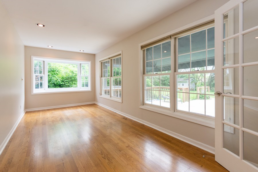 Real Estate Photography - 25877 Apache, Lake Barrington, IL, 60010 - Study with fresh paint and refinished floors