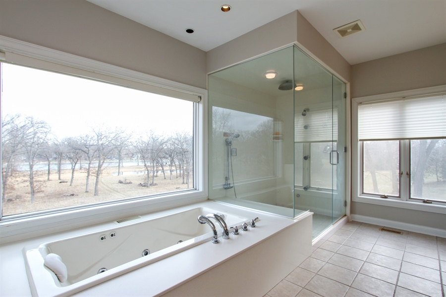 Real Estate Photography - 1313 Behan Rd, Crystal Lake, IL, 60012 - Master Bathroom