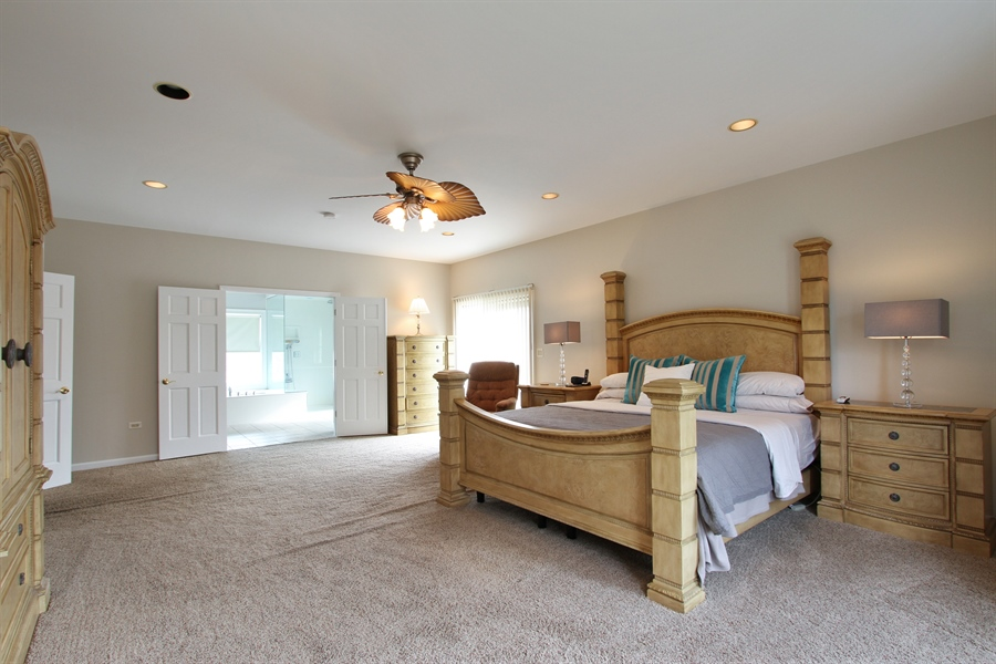 Real Estate Photography - 1313 Behan Rd, Crystal Lake, IL, 60012 - Master Bedroom