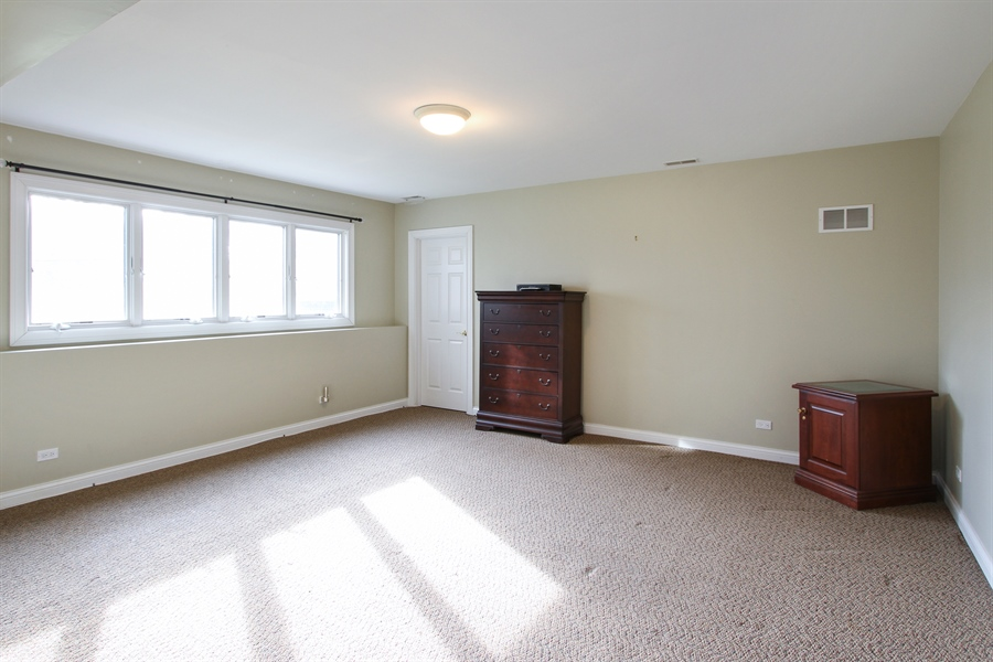 Real Estate Photography - 1313 Behan Rd, Crystal Lake, IL, 60012 - Lower Level Bedroom