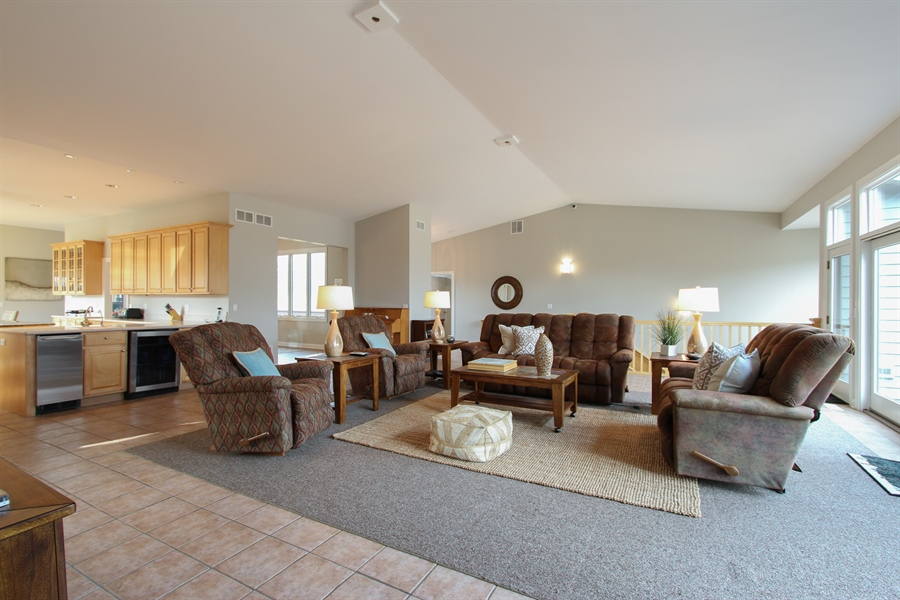 Real Estate Photography - 1313 Behan Rd, Crystal Lake, IL, 60012 - Living Room