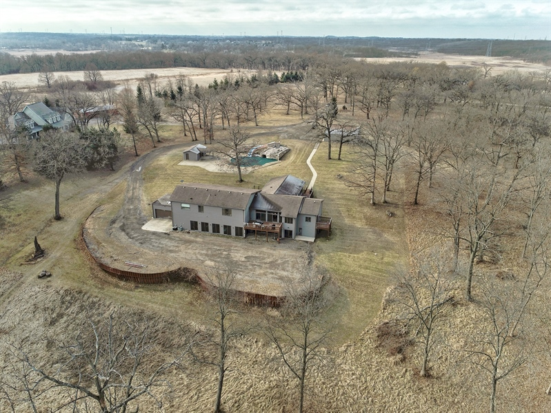 Real Estate Photography - 1313 Behan Rd, Crystal Lake, IL, 60012 - Aerial View