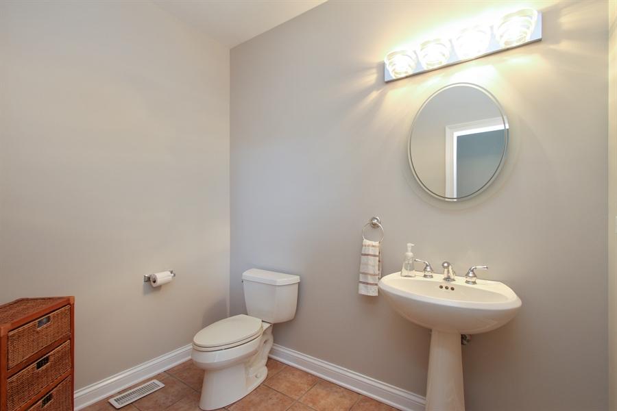 Real Estate Photography - 1313 Behan Rd, Crystal Lake, IL, 60012 - Powder Room