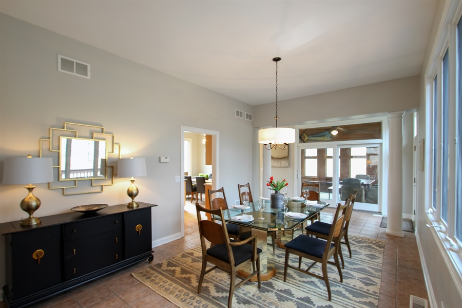 Real Estate Photography - 1313 Behan Rd, Crystal Lake, IL, 60012 - Dining Room