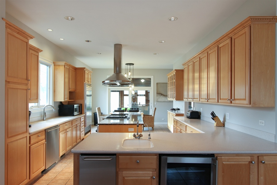 Real Estate Photography - 1313 Behan Rd, Crystal Lake, IL, 60012 - Kitchen