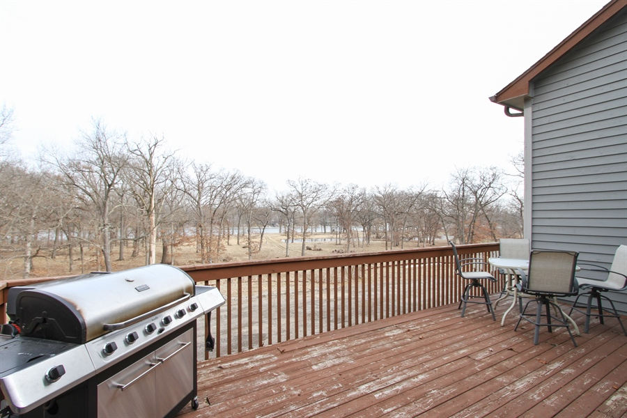 Real Estate Photography - 1313 Behan Rd, Crystal Lake, IL, 60012 - Deck