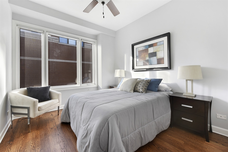 Real Estate Photography - 738 N. Hudson, Chicago, IL, 60654 - 2nd Bedroom