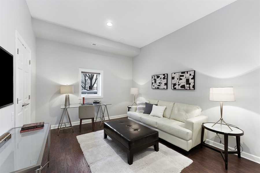 Real Estate Photography - 738 N. Hudson, Chicago, IL, 60654 - Lower Level