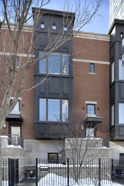 Real Estate Photography - 738 N. Hudson, Chicago, IL, 60654 - Front View