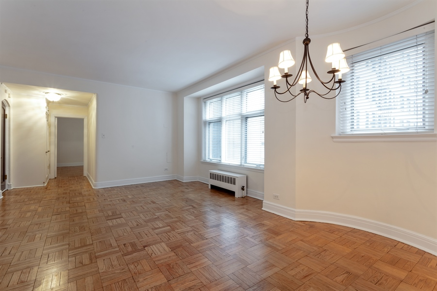 Real Estate Photography - 222 E Chestnut, 9D, Chicago, IL, 60611 - Living Room