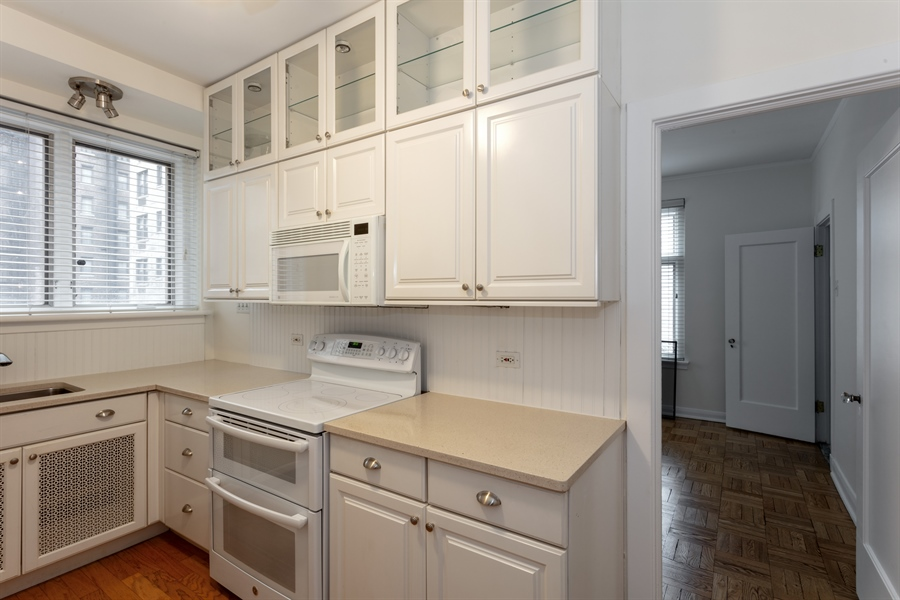 Real Estate Photography - 222 E Chestnut, 9D, Chicago, IL, 60611 - Kitchen