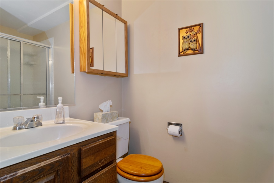 Real Estate Photography - 3017 N Stratford, Arlington Heights, IL, 60004 - 2nd Bathroom