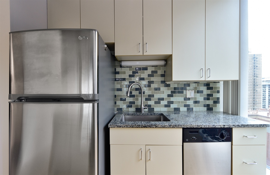 Real Estate Photography - 1300 N Astor St, Unit 16C, Chicago, IL, 60610 - Kitchen