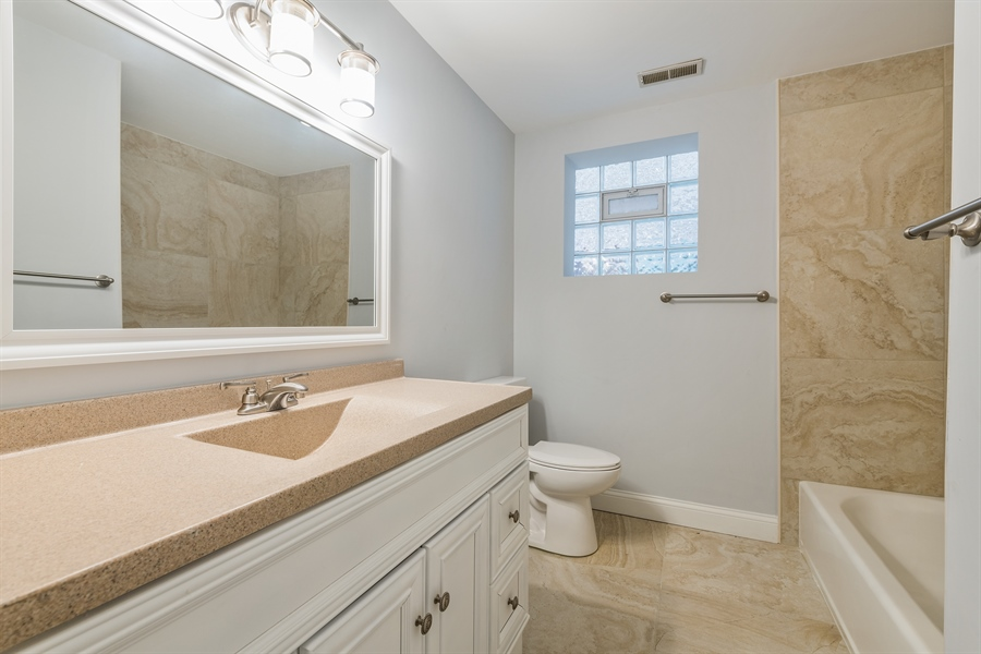 Real Estate Photography - 4909 Winthrop, Chicago, IL, 60640 - 3rd Bathroom