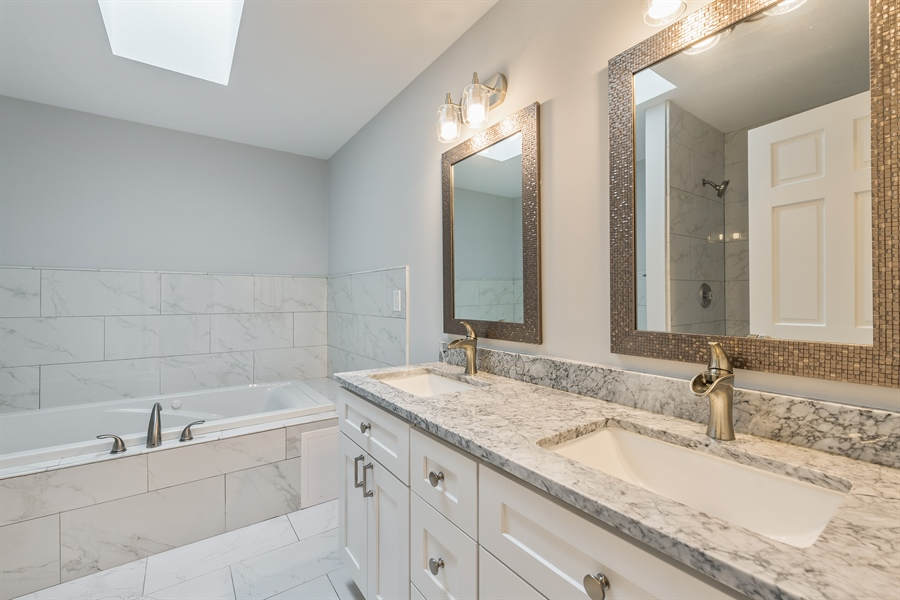 Real Estate Photography - 4909 Winthrop, Chicago, IL, 60640 - Master Bathroom