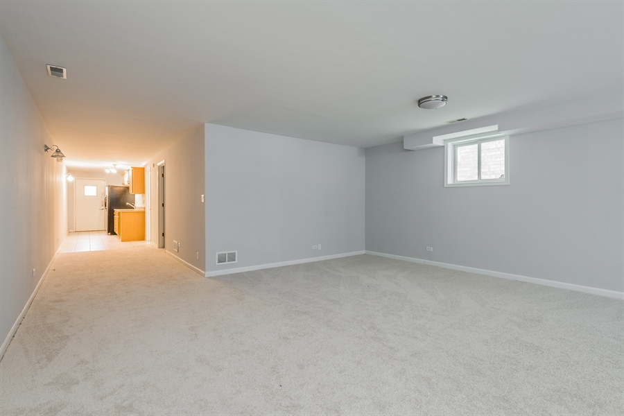 Real Estate Photography - 4909 Winthrop, Chicago, IL, 60640 - Lower Level