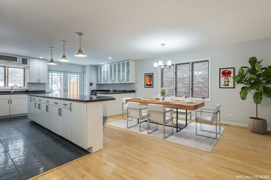 Real Estate Photography - 4909 Winthrop, Chicago, IL, 60640 - Kitchen