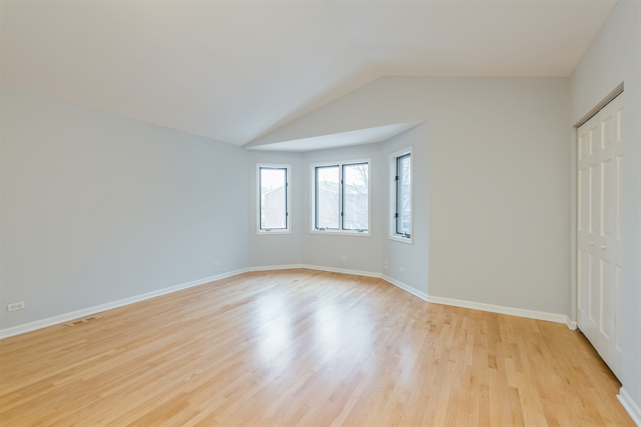 Real Estate Photography - 4909 Winthrop, Chicago, IL, 60640 - Master Bedroom
