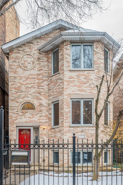 Real Estate Photography - 4909 Winthrop, Chicago, IL, 60640 - Front View
