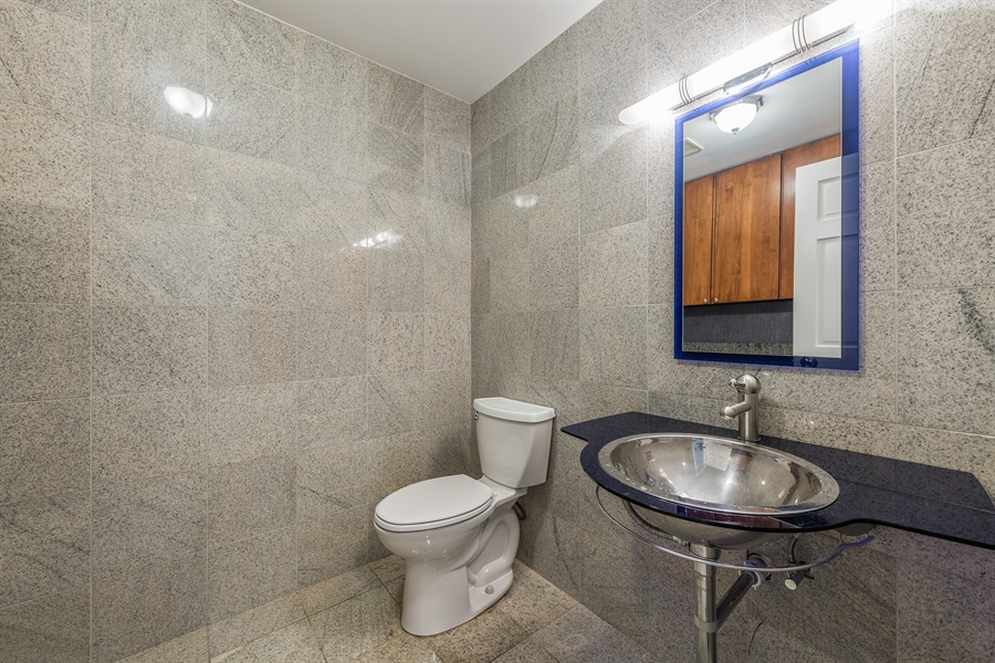 Real Estate Photography - 4909 Winthrop, Chicago, IL, 60640 - 2nd Bathroom