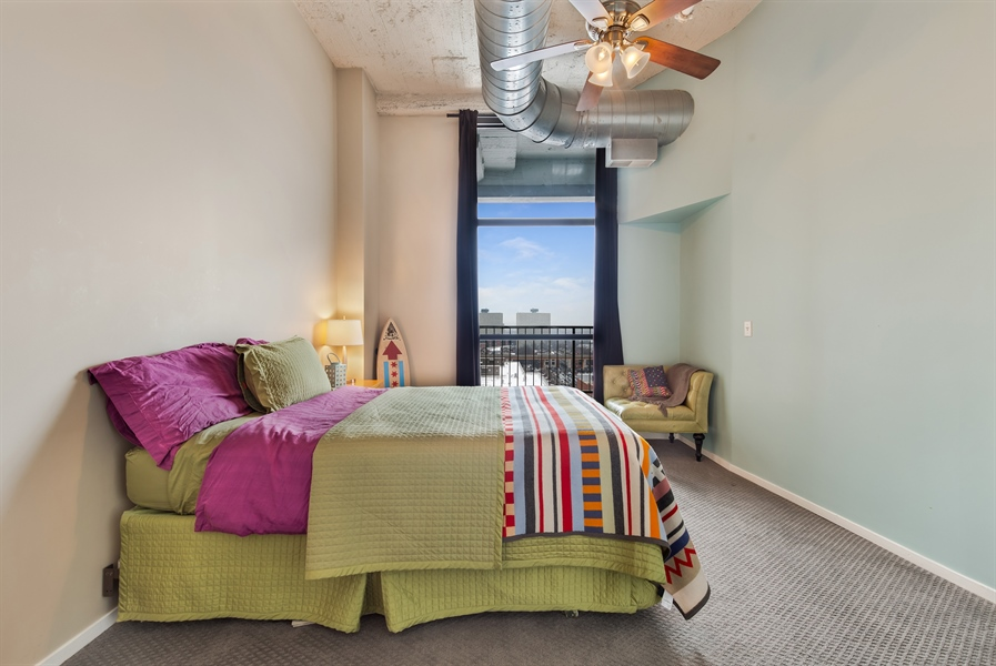 Real Estate Photography - 1530 S State St, Unit 929-930, Chicago, IL, 60605 - 4th Bedroom