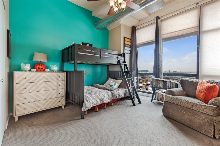 Real Estate Photography - 1530 S State St, Unit 929-930, Chicago, IL, 60605 - 3rd Bedroom