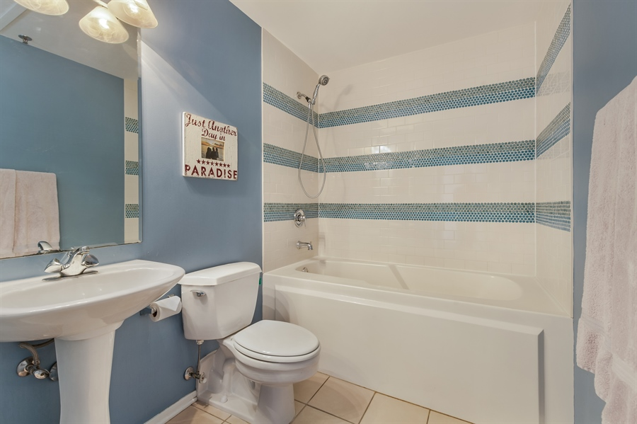 Real Estate Photography - 1530 S State St, Unit 929-930, Chicago, IL, 60605 - 2nd Bathroom