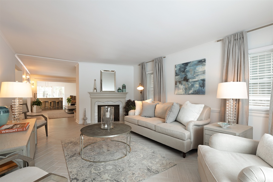 Real Estate Photography - 1306 Jackson Ave, River Forest, IL, 60305 - Living Room