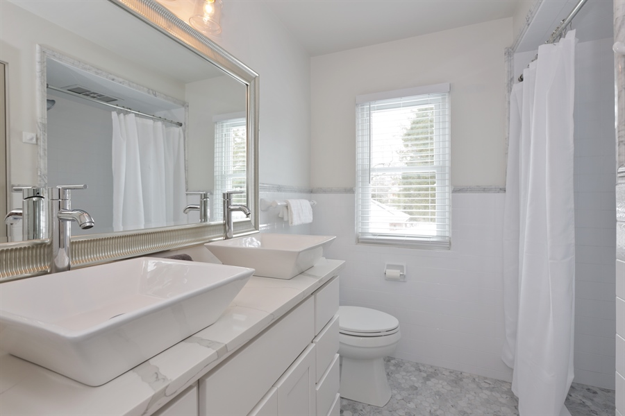 Real Estate Photography - 1306 Jackson Ave, River Forest, IL, 60305 - Master Bathroom
