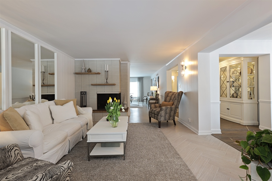 Real Estate Photography - 1306 Jackson Ave, River Forest, IL, 60305 - Family Room