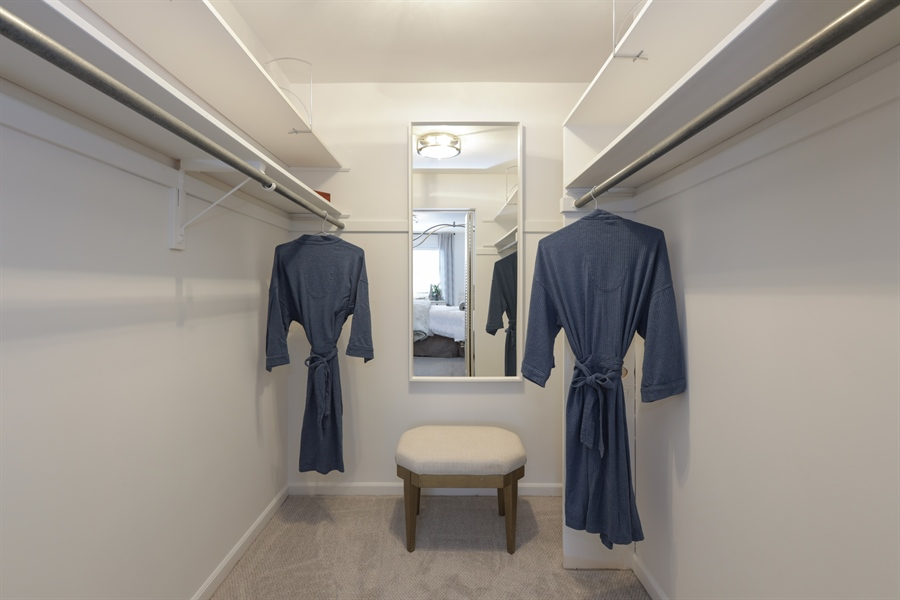 Real Estate Photography - 1306 Jackson Ave, River Forest, IL, 60305 - Master Bedroom Closet