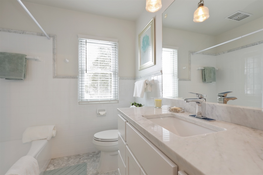 Real Estate Photography - 1306 Jackson Ave, River Forest, IL, 60305 - 2nd Bathroom